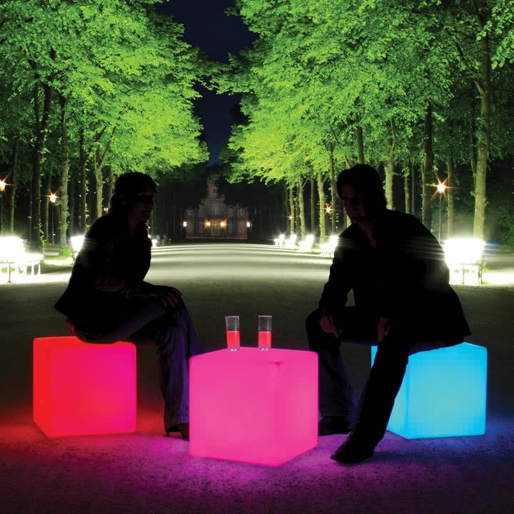 Moree Cube-Led Accu Outdoor
