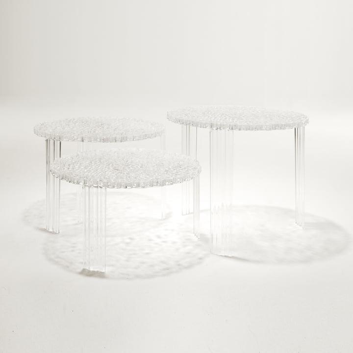 Kartell - T-Table, glasklar