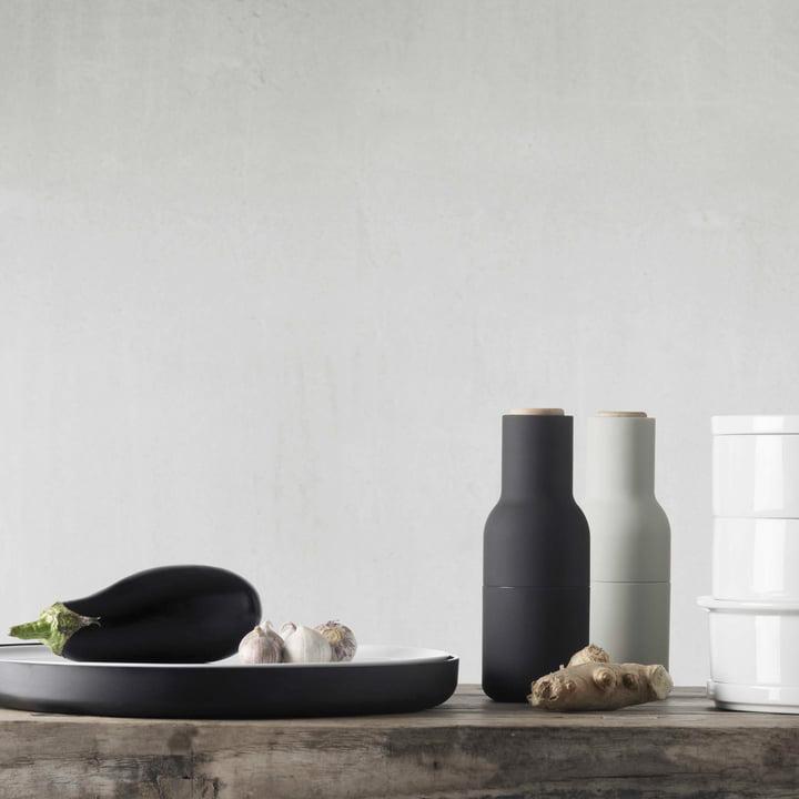 Bottle Salz- und Pfeffermühlen Set von Menu