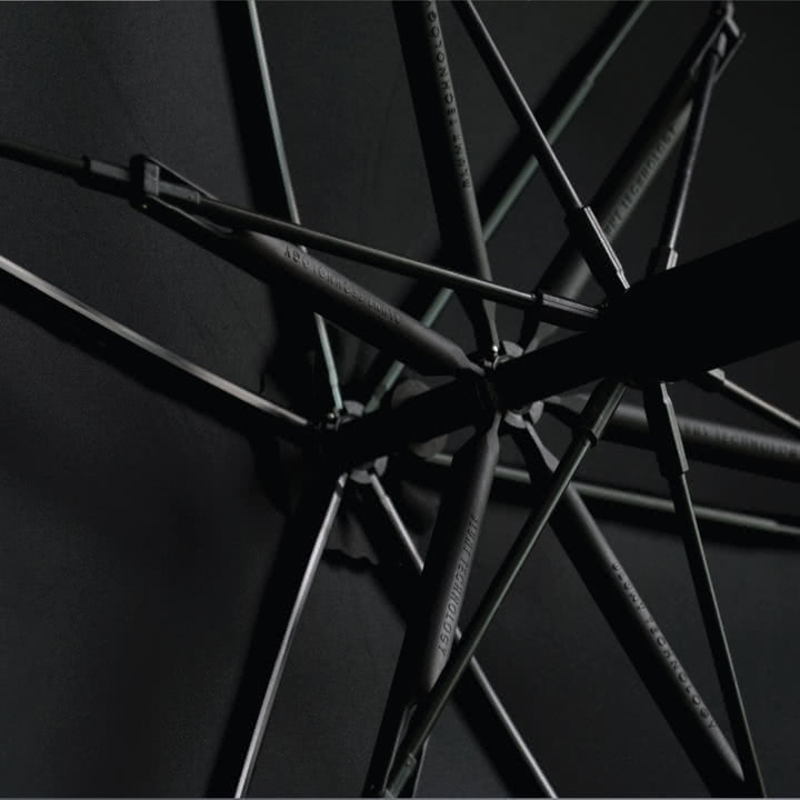 Blunt Regenschirm, schwarz