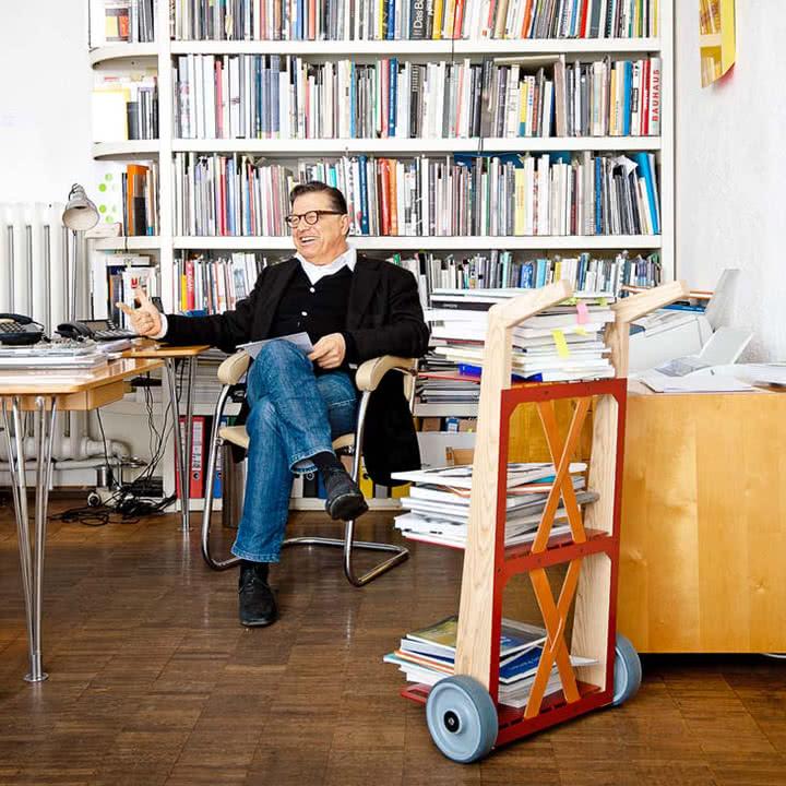 Auerberg - Bücherkarre