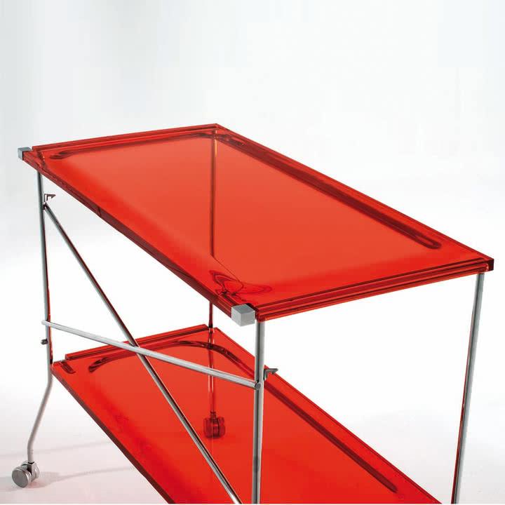 Kartell - Flip Beistellwagen
