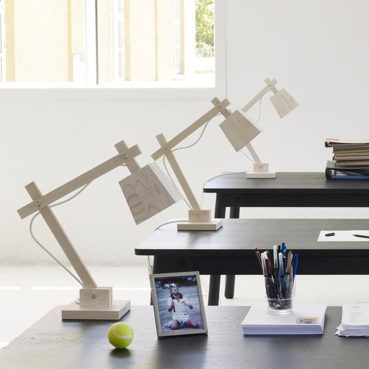 Die Wood Lamp Tischleuchte von Muuto