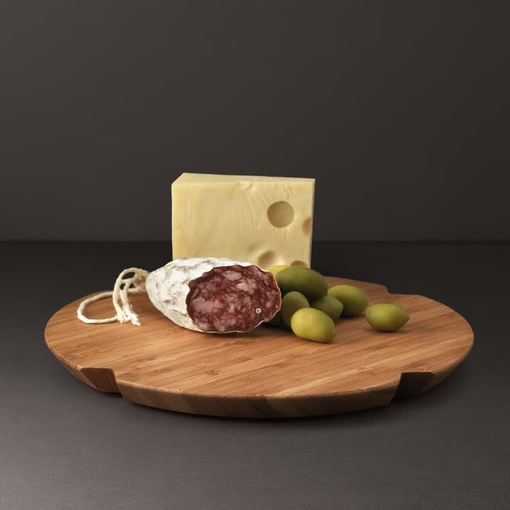 Rosendahl - Grand Cru Käse Brett, 30cm, rund, Bambus