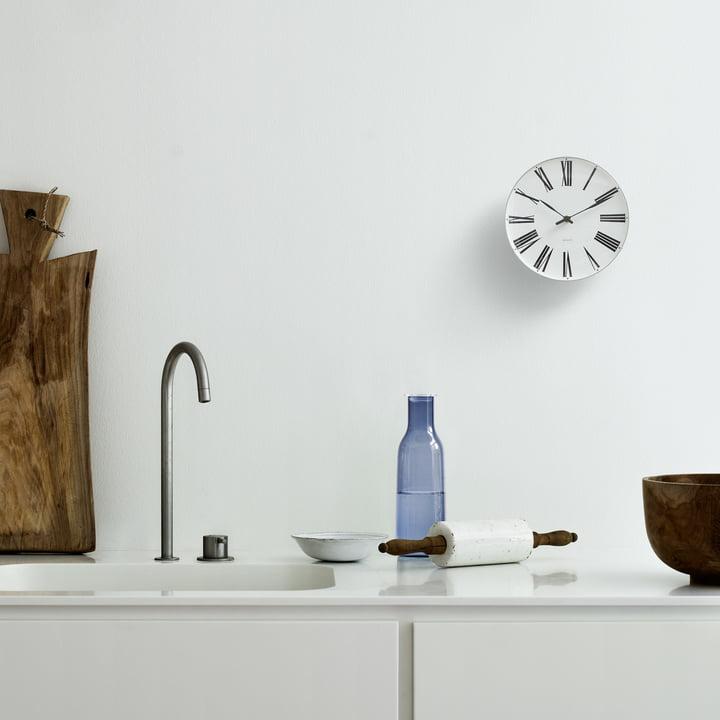 Rosendahl - AJ Roman Wanduhr, Ø 16cm