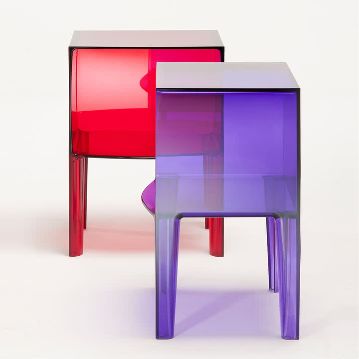 Kartell - Small Ghost Buster, violett + red