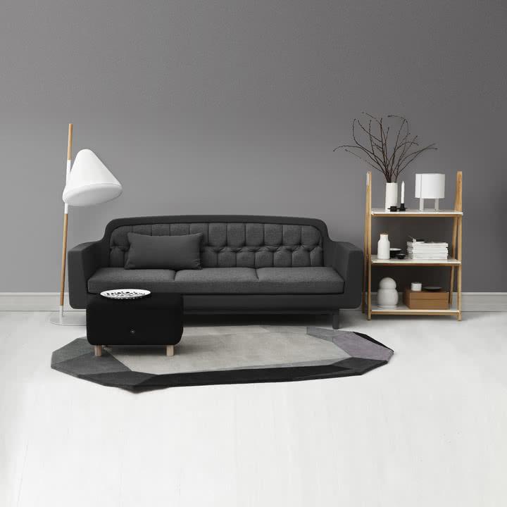 Normann Copenhagen - Gem und Onkel -Ambiente, Wohnzimmer, grau