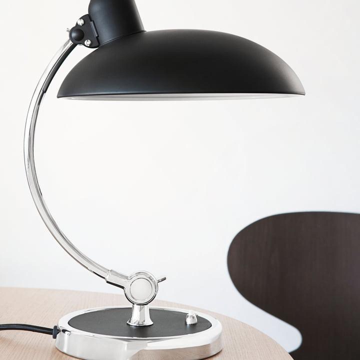 KAISER idell - 6631 Luxus / matt schwarz
