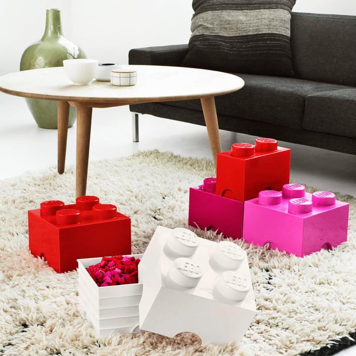 Storage Brick in verschiedenen Ausführungen von Lego