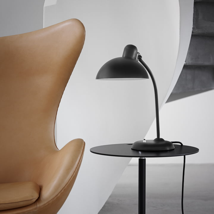 KAISER idell - 6556-T neigbare Tischleuchte, matt schwarz