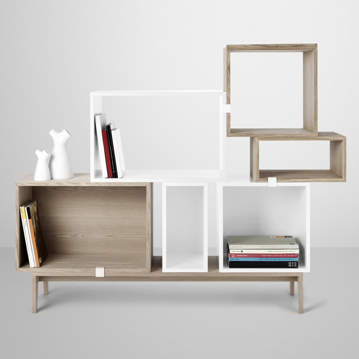 Muuto - Stacked Regalsystem mit Podium