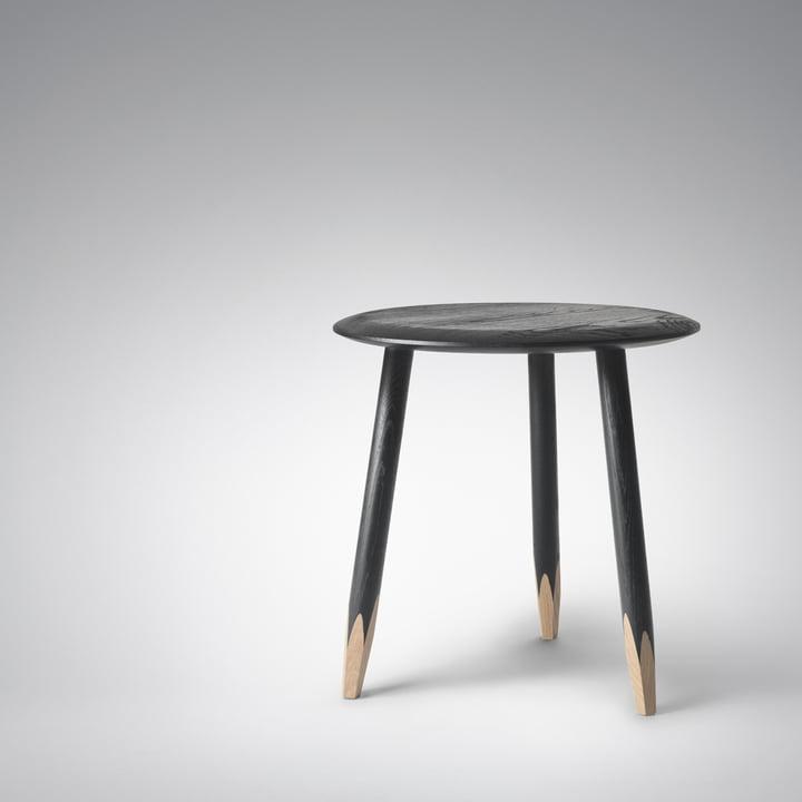 Hoof Table klein von &Tradition in schwarz