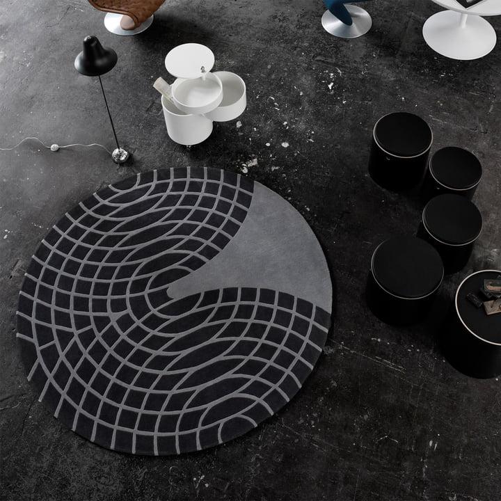 Panton Teppich von Verpan
