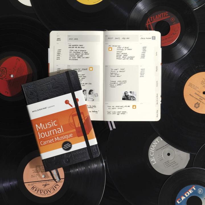Moleskine - Passion Journal, Musik