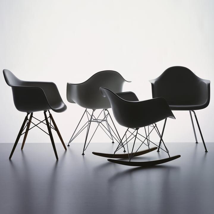 eames plastic armchair dar von vitra. Black Bedroom Furniture Sets. Home Design Ideas