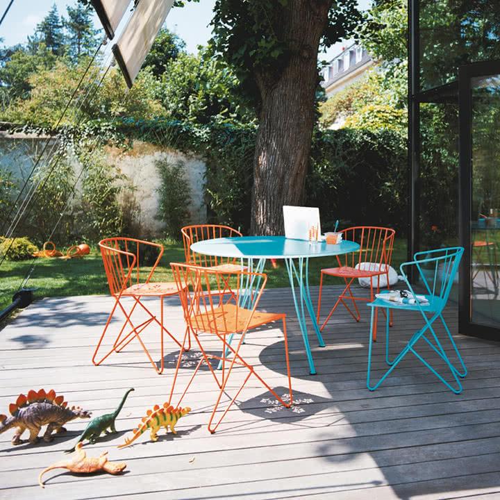 Rendez-Vous mit den Flower Sesseln von Fermob