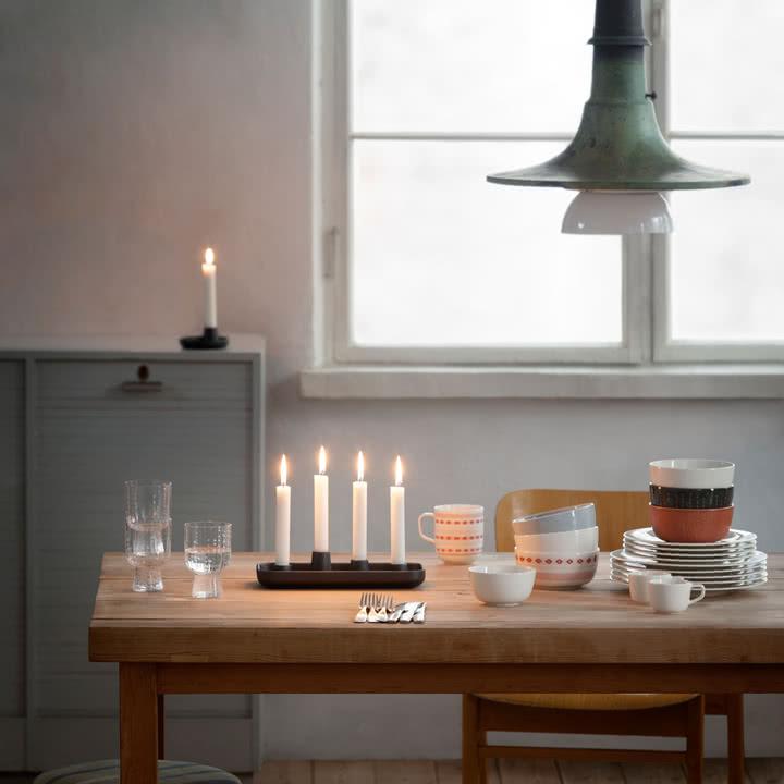 Iittala, Allas Kerzenständer, Weihnachten
