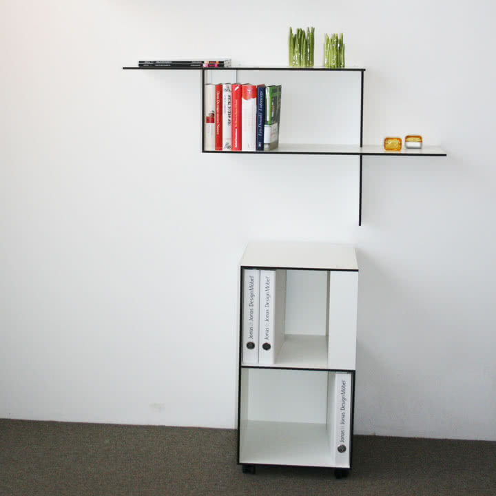 Jonas Jonas - Wallboard und Wallbox, weiß
