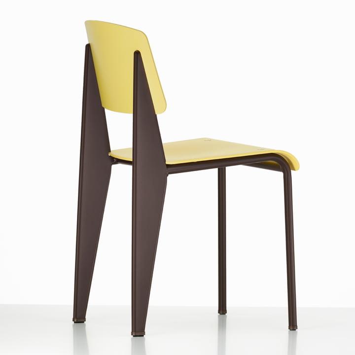 Prouvé Standard SP chair von Vitra in citron