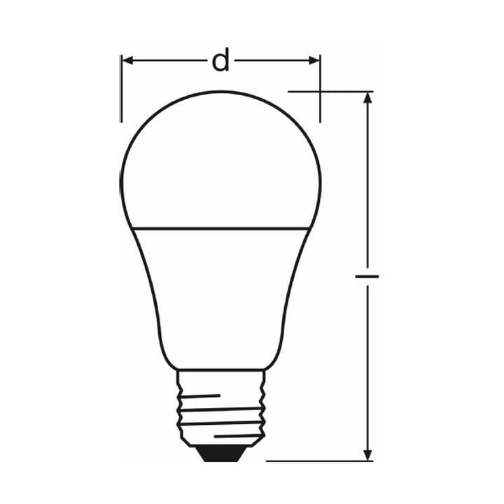 Osram - LED Superstar Classic A 60 advanced, E27 - Grafik