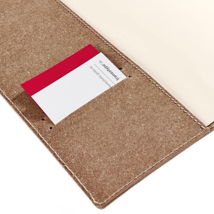 Holtz - sense Book Flap - Fach Visitenkarte