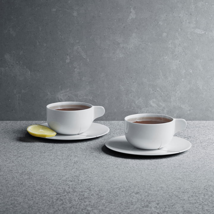Georg Jensen - Tea with Georg Teetasse mit Untertasse 2er-Set