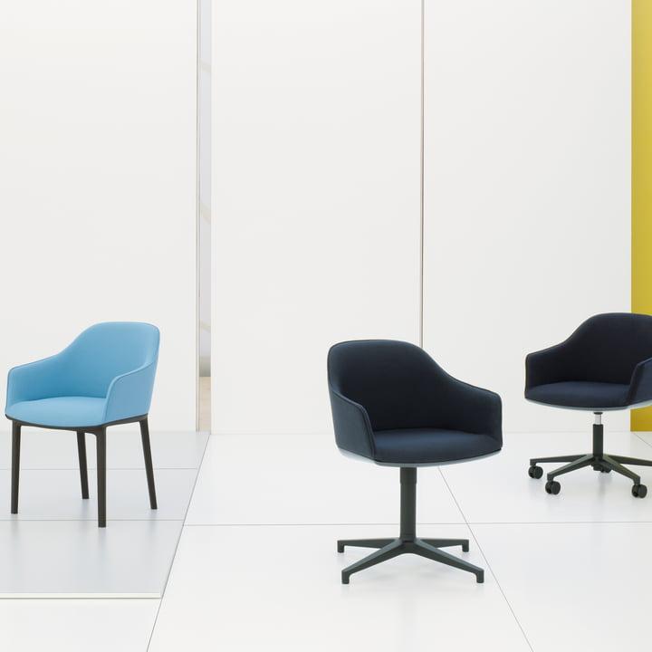 Softshell Chair Serie von Vitra