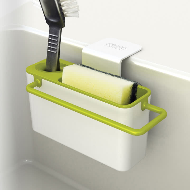 Joseph Joseph - Sink Aid, weiß / grün - befüllt