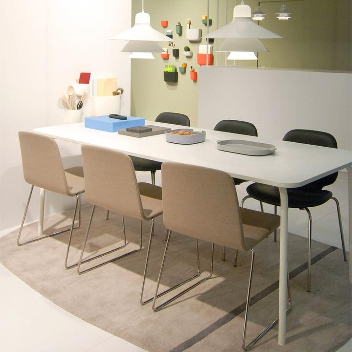 Normann Copenhagen - My Table, groß, weiß