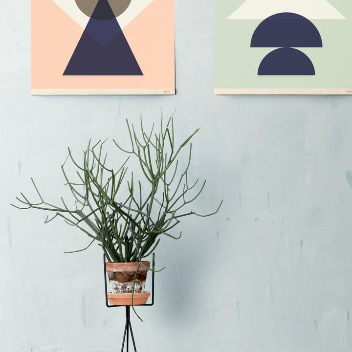 Moderner Pflanzenständer von ferm Living