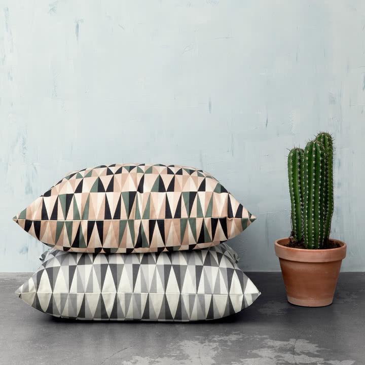 Ferm Living - Spear Floor Cushion, Kissen, 80x80