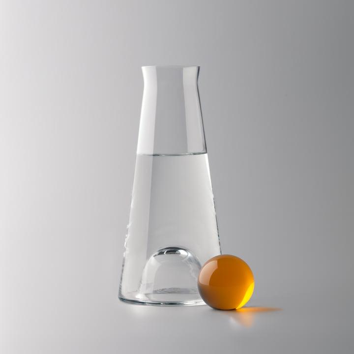 Design House Stockholm - Fia Karaffe, klar / bernstein - Wasser