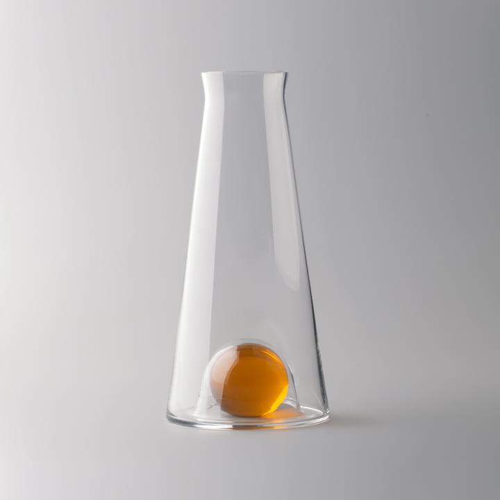 Design House Stockholm - Fia Karaffe, klar / bernstein