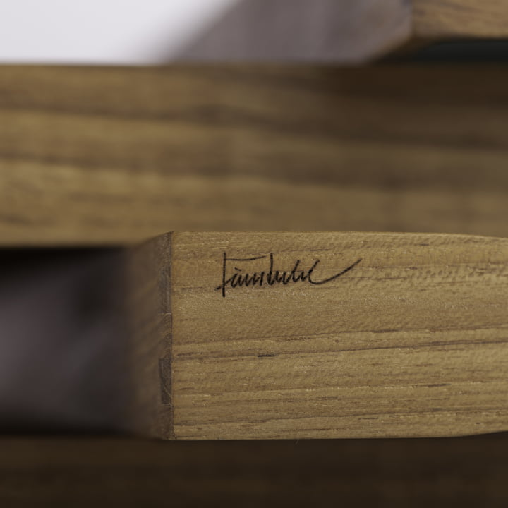 ArchitectMade - Tablett Turning Tray - Detail, Signatur