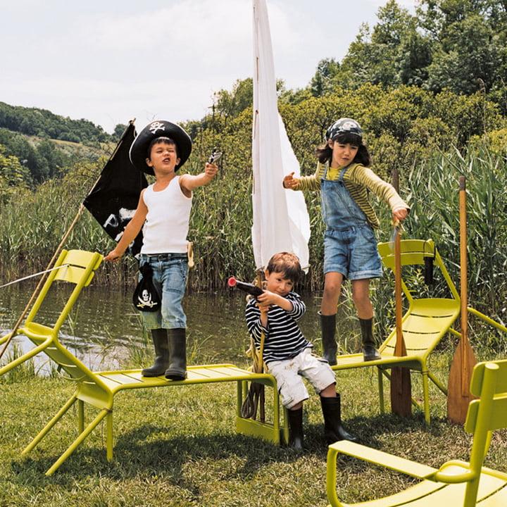 Luxembourg Niedriger Tisch / Gartenbank von Fermob