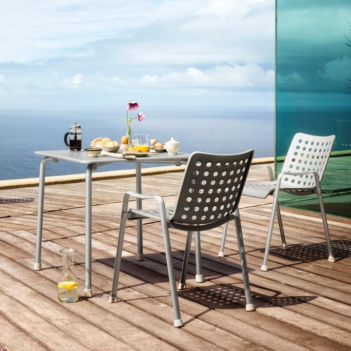 Landi Stühle mit Davy Tisch von Vitra