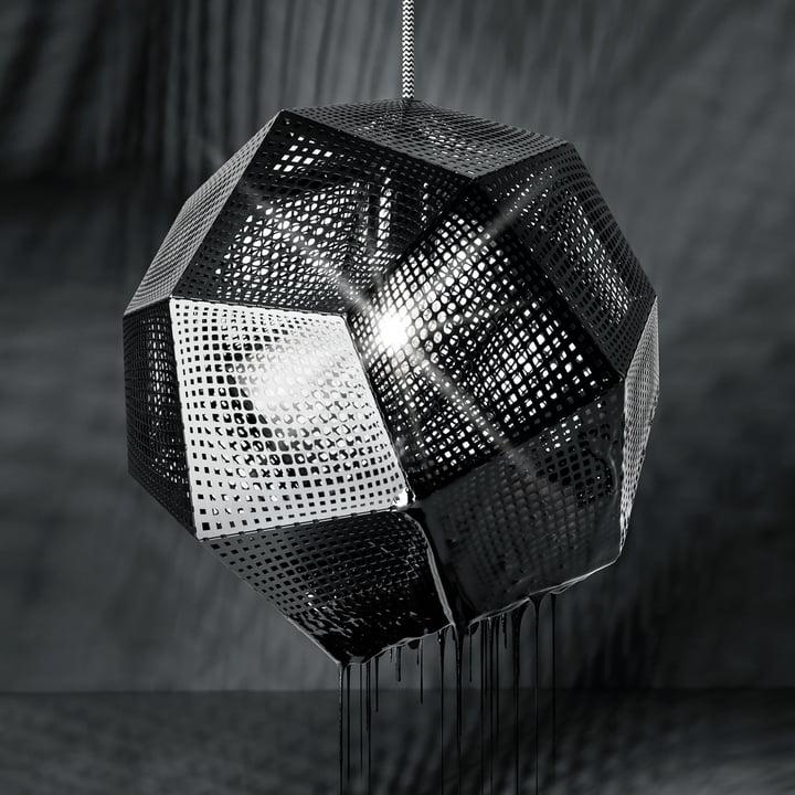 Tom Dixon - Etch Pendelleuchte, schwarz