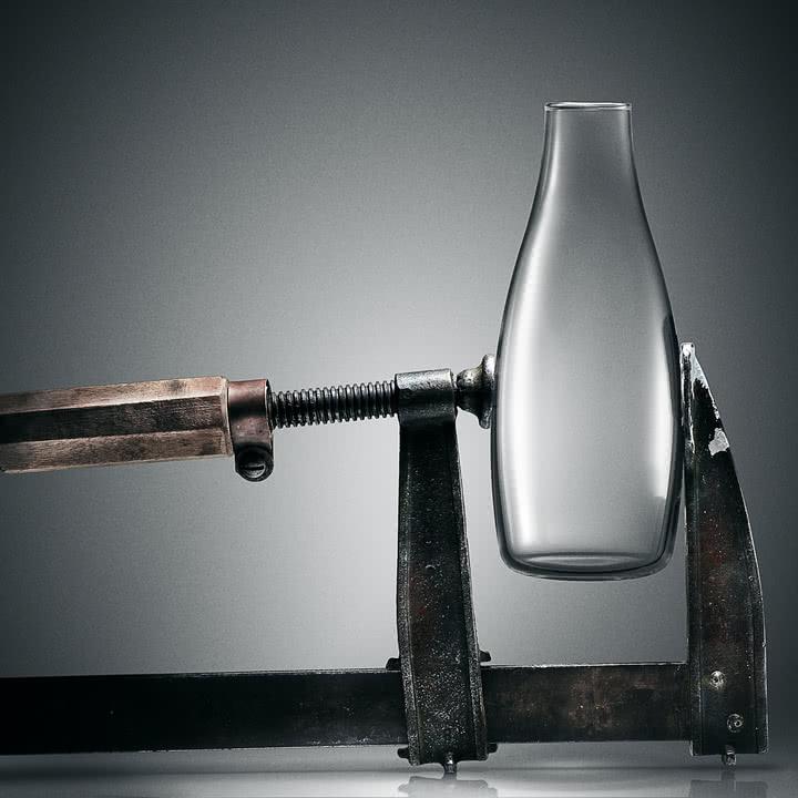 Trinkflasche mit Deckel von Retap