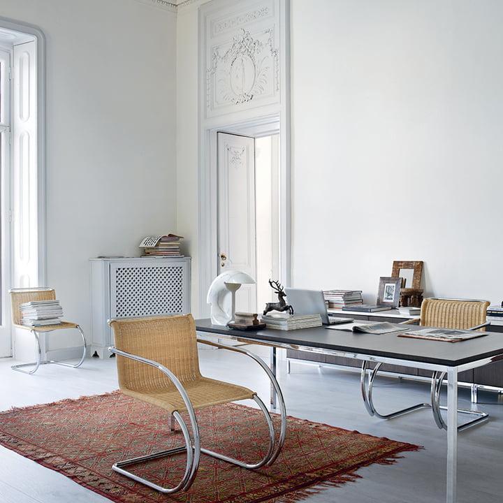 Knoll - MR Beistellstuhl, ohne Armlehnen