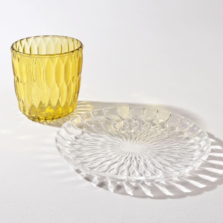 Kartell - Jelly Servierplatte, Vase