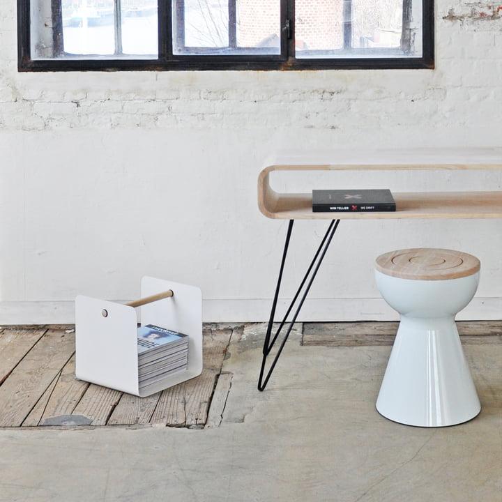XLBoom - Ambientebild, Metro Sofa Tisch, Boto Hocker, Flow