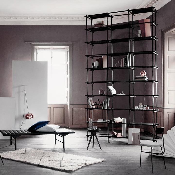 Regal, Daybed und Stuhl von Menu