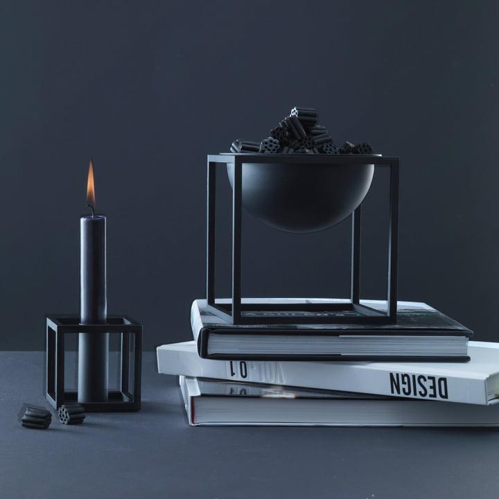 by Lassen - Kubus 1, Kubus Bowl, schwarz