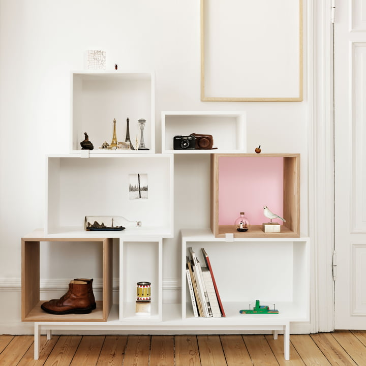 Muuto - Stacked Regalsystem - Globetrotter