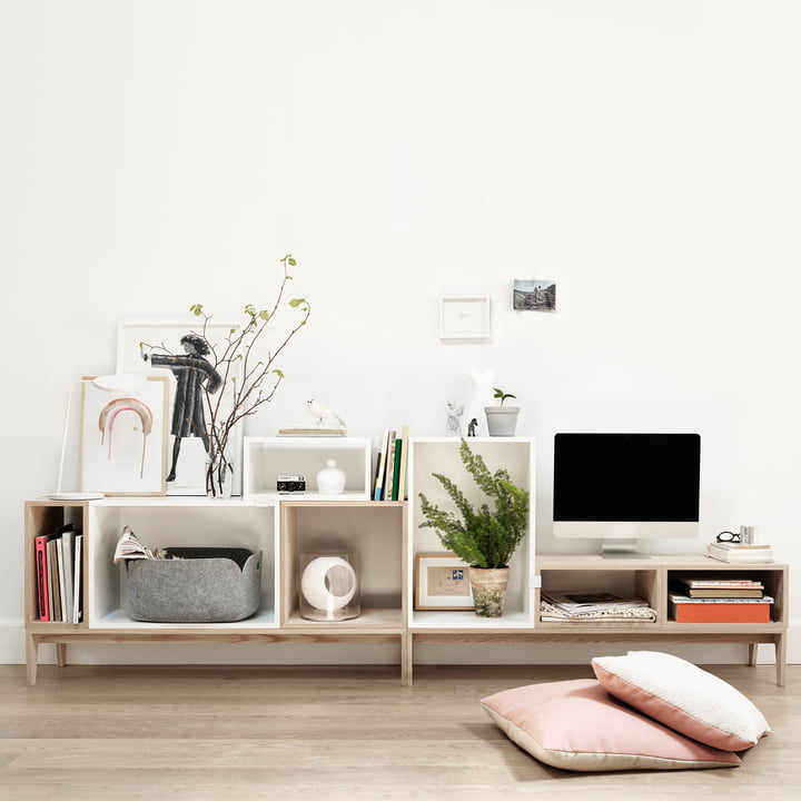 Stacked Regalsystem von Muuto
