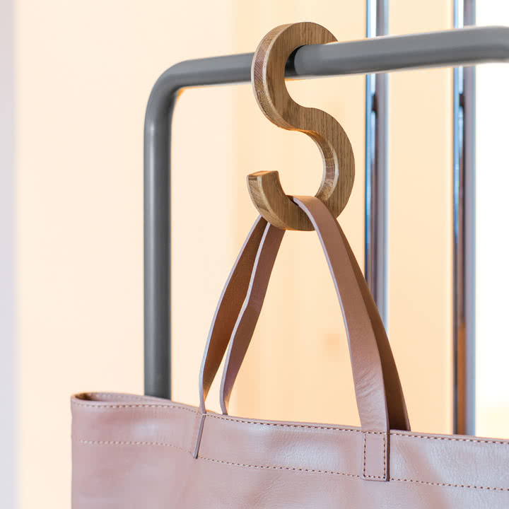Massiver Swing Haken für Ihre Tasche