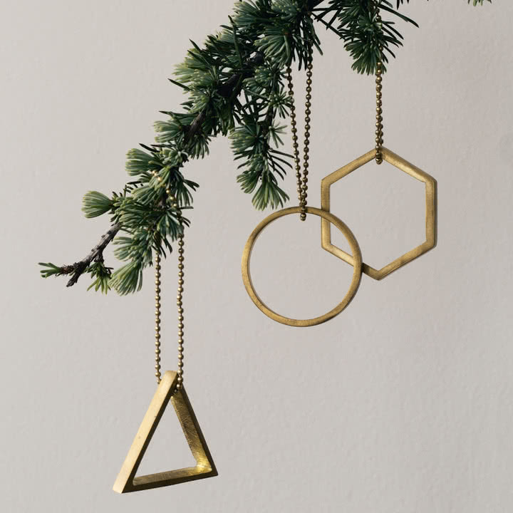 ferm Living - Messing-Ornamente