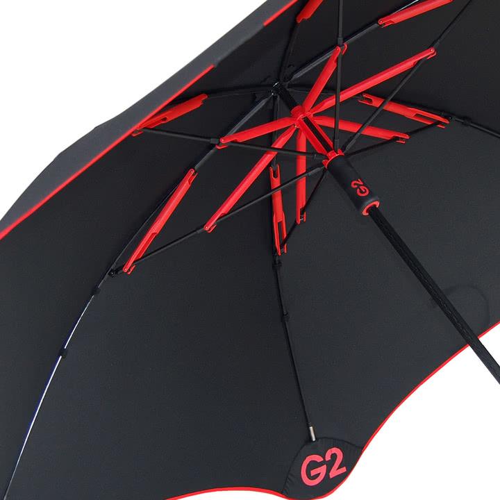 Blunt Golf G2 unten, rot, Detailbild