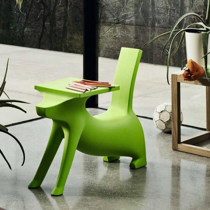 Magis Me Too - Le Chien Savant Kinderstuhl / Schreibtisch