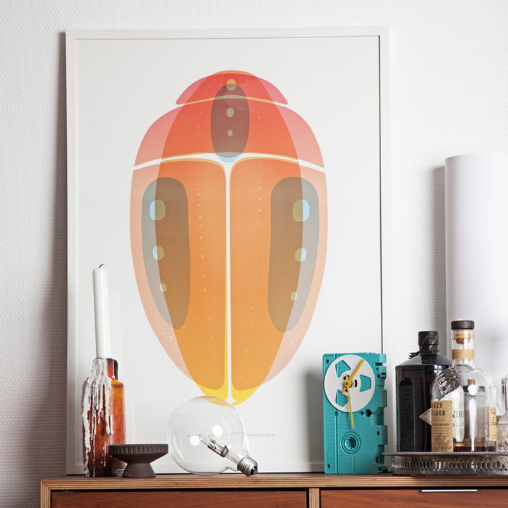 Paper Collective - Poster Beetle 02